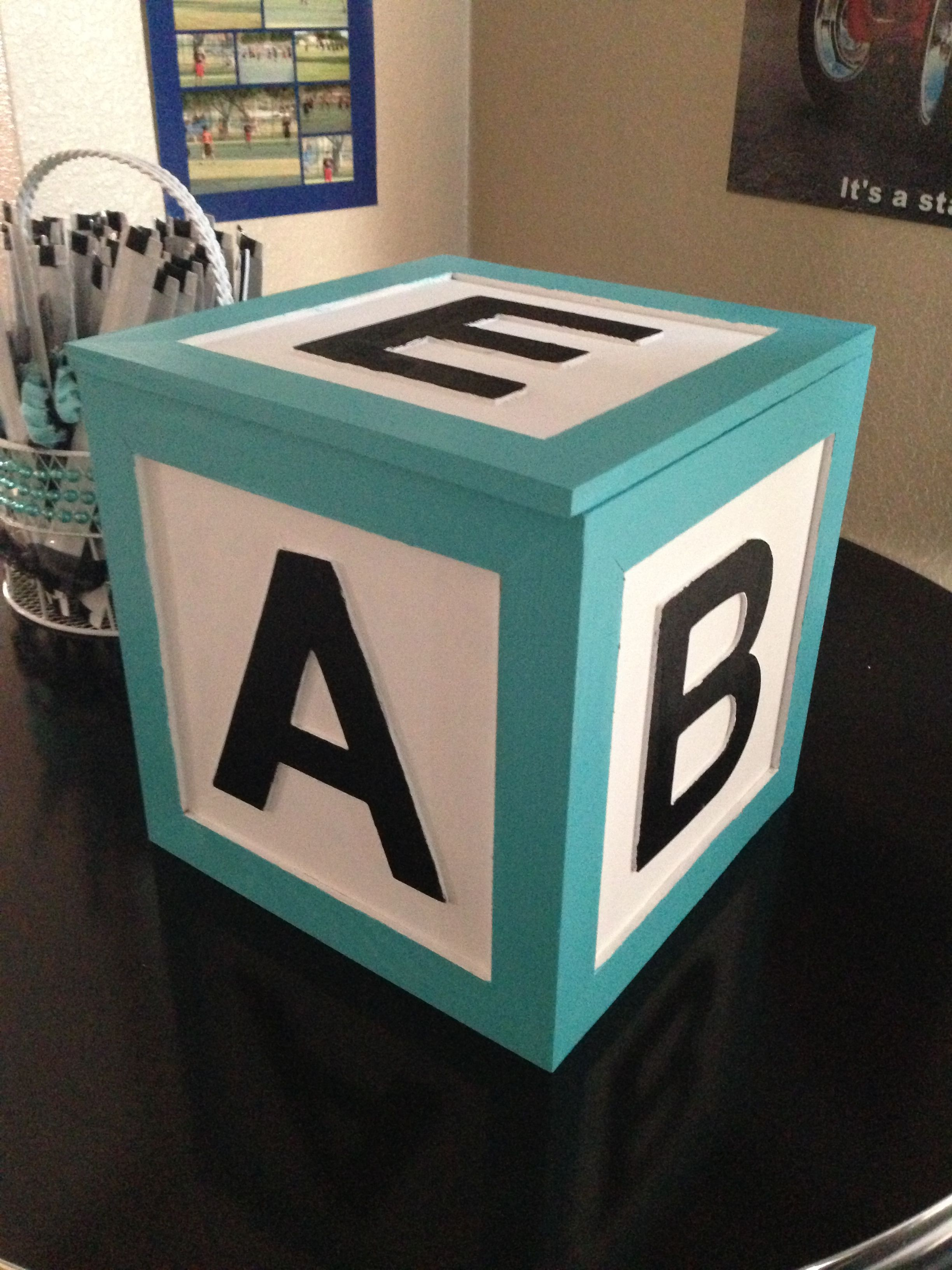 baby shower box for gift cards baby shower pinterest