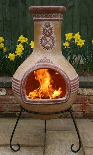 1000 Images About Chiminea 39 S Baby On Pinterest Patio Outdoor Fireplaces And Clay