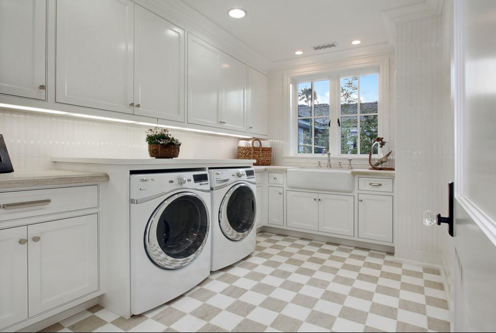 cool laundry room floor la casa nueva pinterest