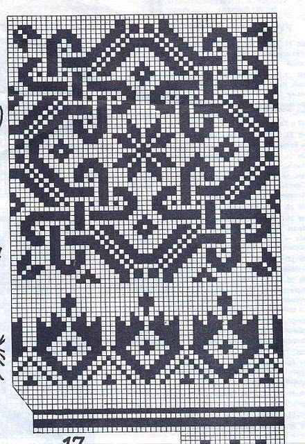 Celtic Knot Knitting Chart : Crochet on pinterest borders