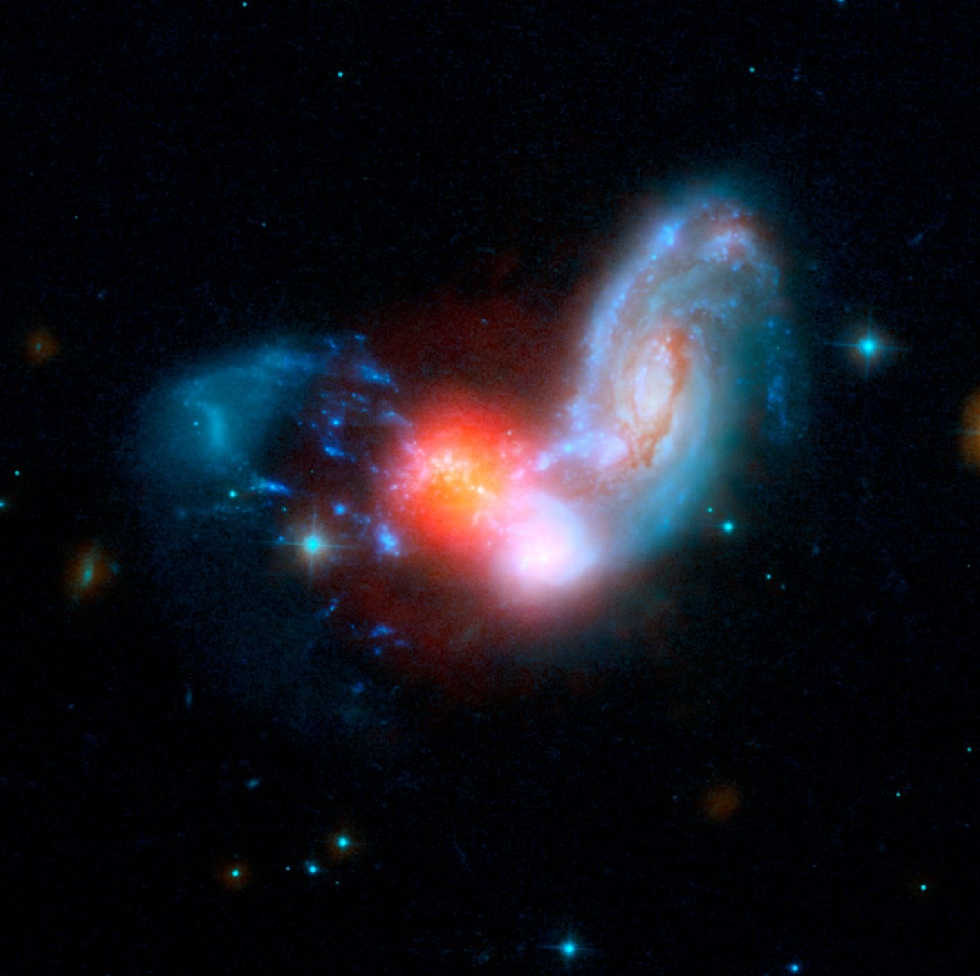 the magnificent starburst galaxy - photo #31