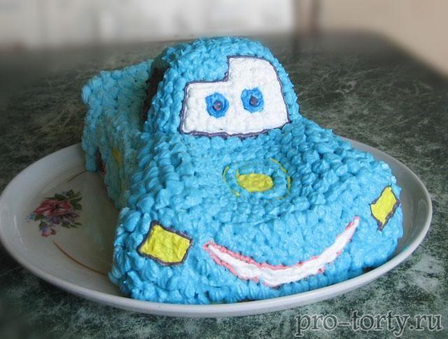 Торт машинка мастер класс фото из крема