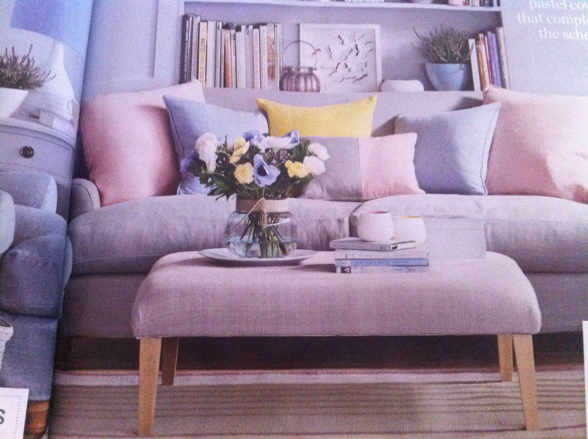 Pink And Grey Living Room Ideas Pinterest