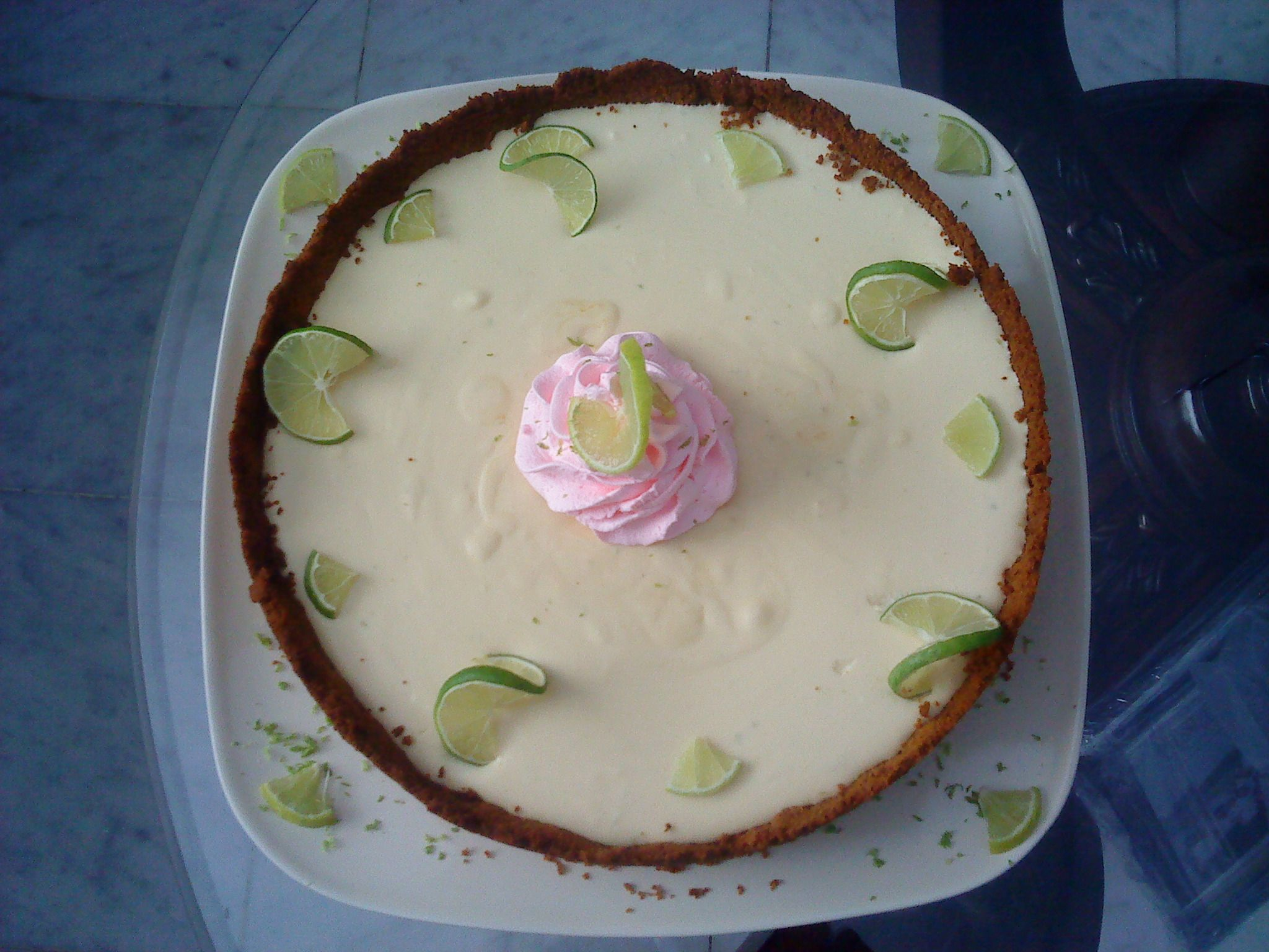 Key Lime Chiffon Pie | My creations! | Pinterest