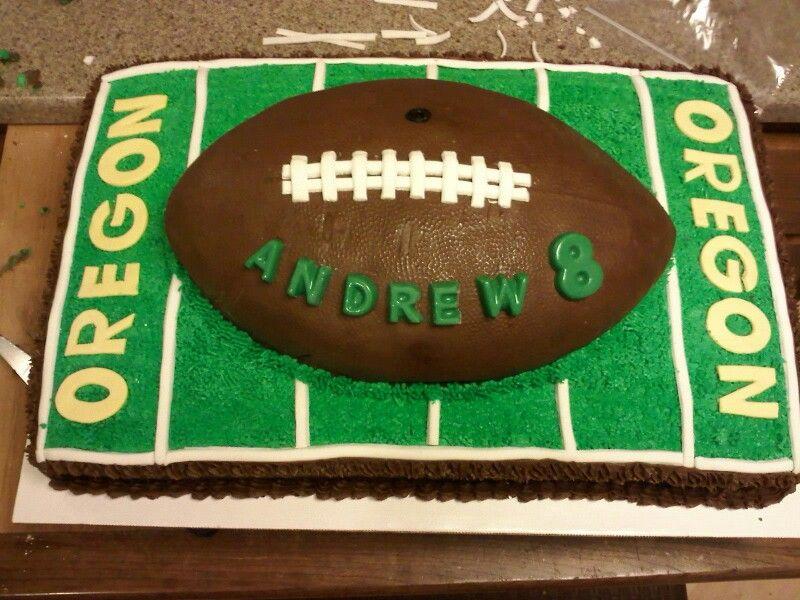 Cake Designs Of Football : Football cake. Party Ideas Pinterest