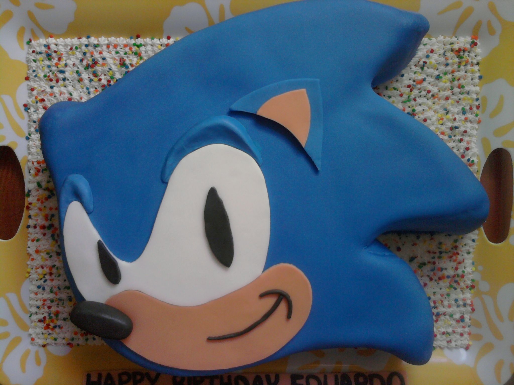 Pin Coolest Sonic The Hedgehog Cake 22 Cake On Pinterest