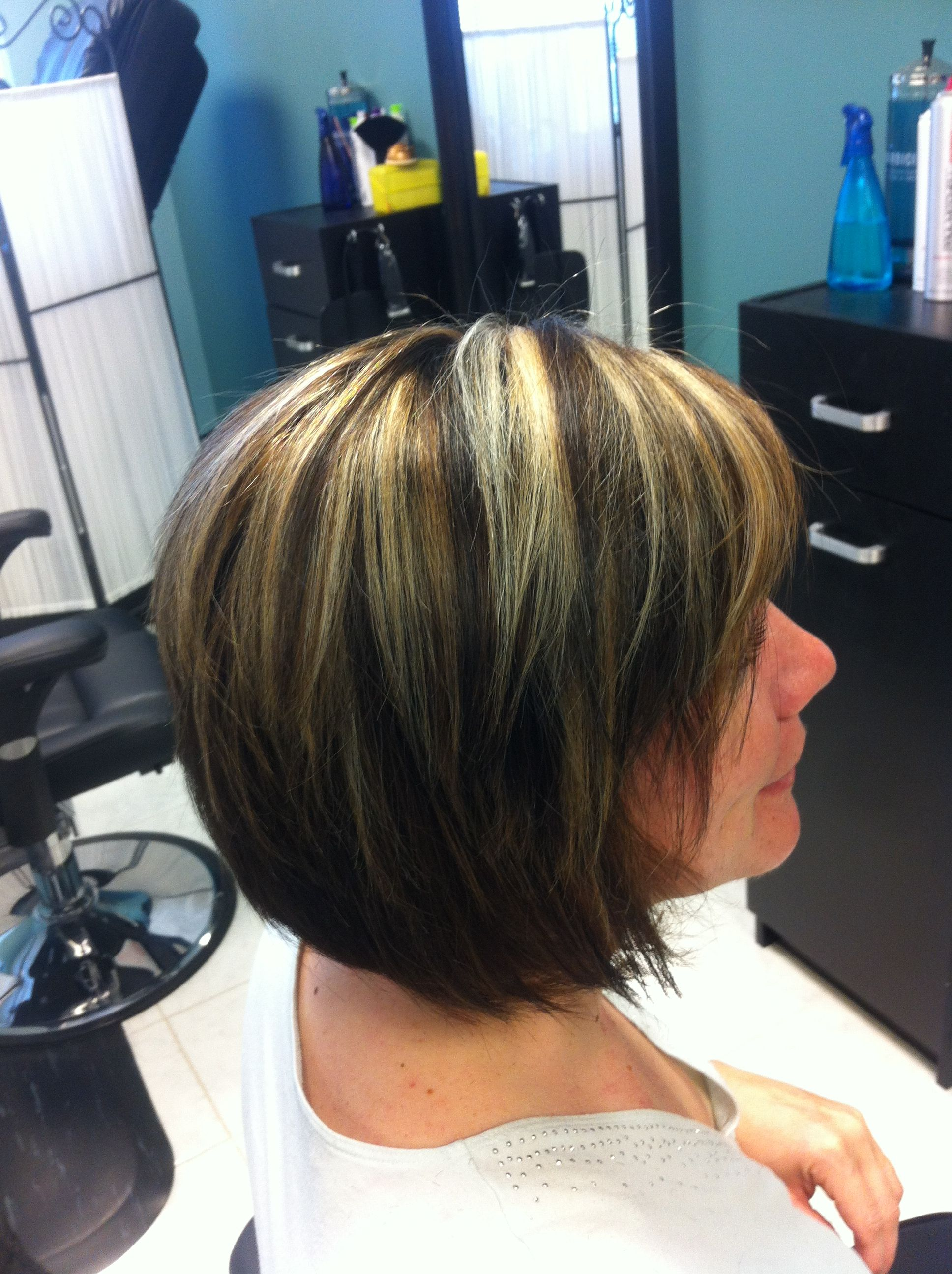 Bold Highlights And Lowlights | HAIRSTYLE GALLERY