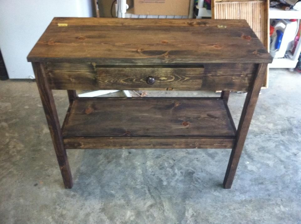 Side Console Table Farmhouse Rustic & Farmhouse Furniture