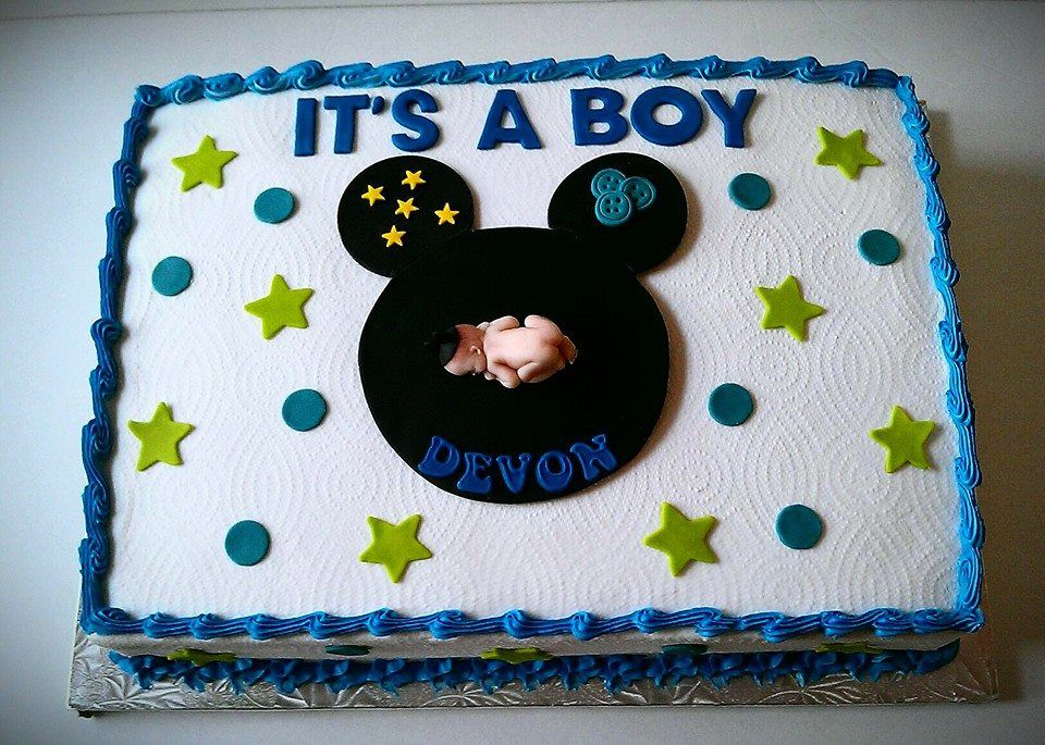 mickey mouse them baby shower cake cakes cupcakes i 39 ve made pin