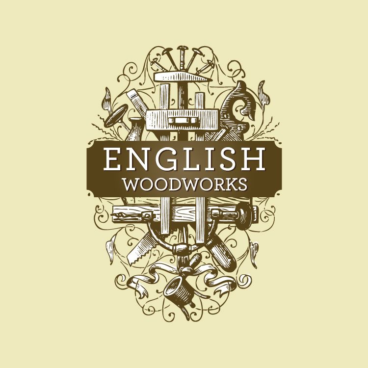 Woods Lumber Logo ~ Luxury custom woodworking logos egorlin
