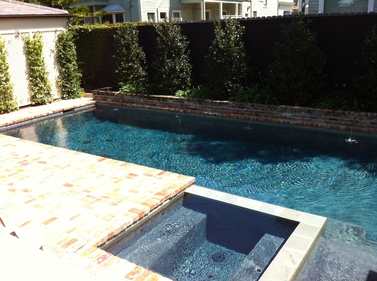 Small yard pool dream yard pinterest for Pictures of small pools