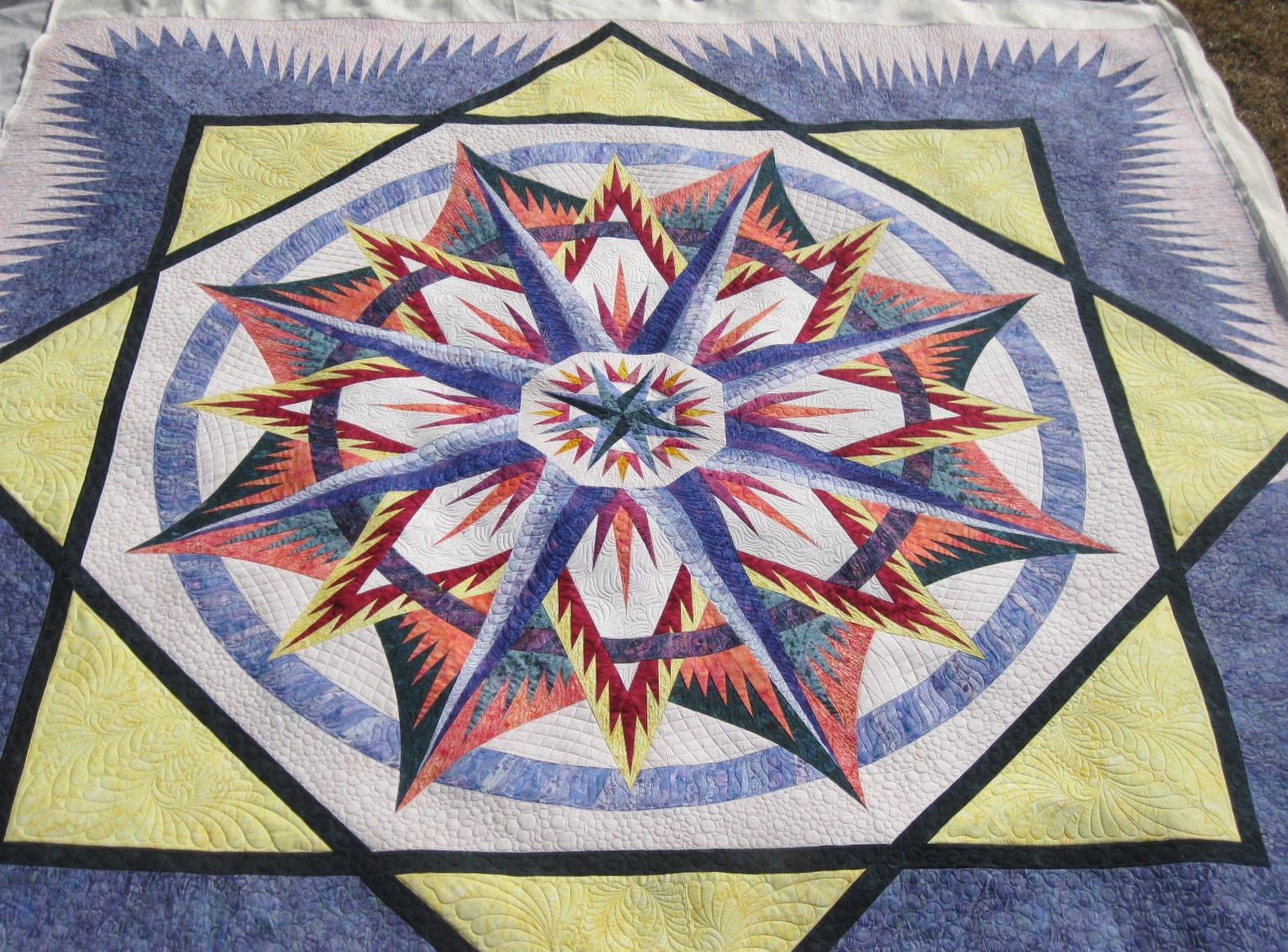 Quilting Patterns Mariner S Compass : Share