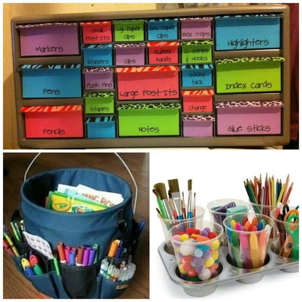 Office Organization Ideas Keep It Together Pinterest