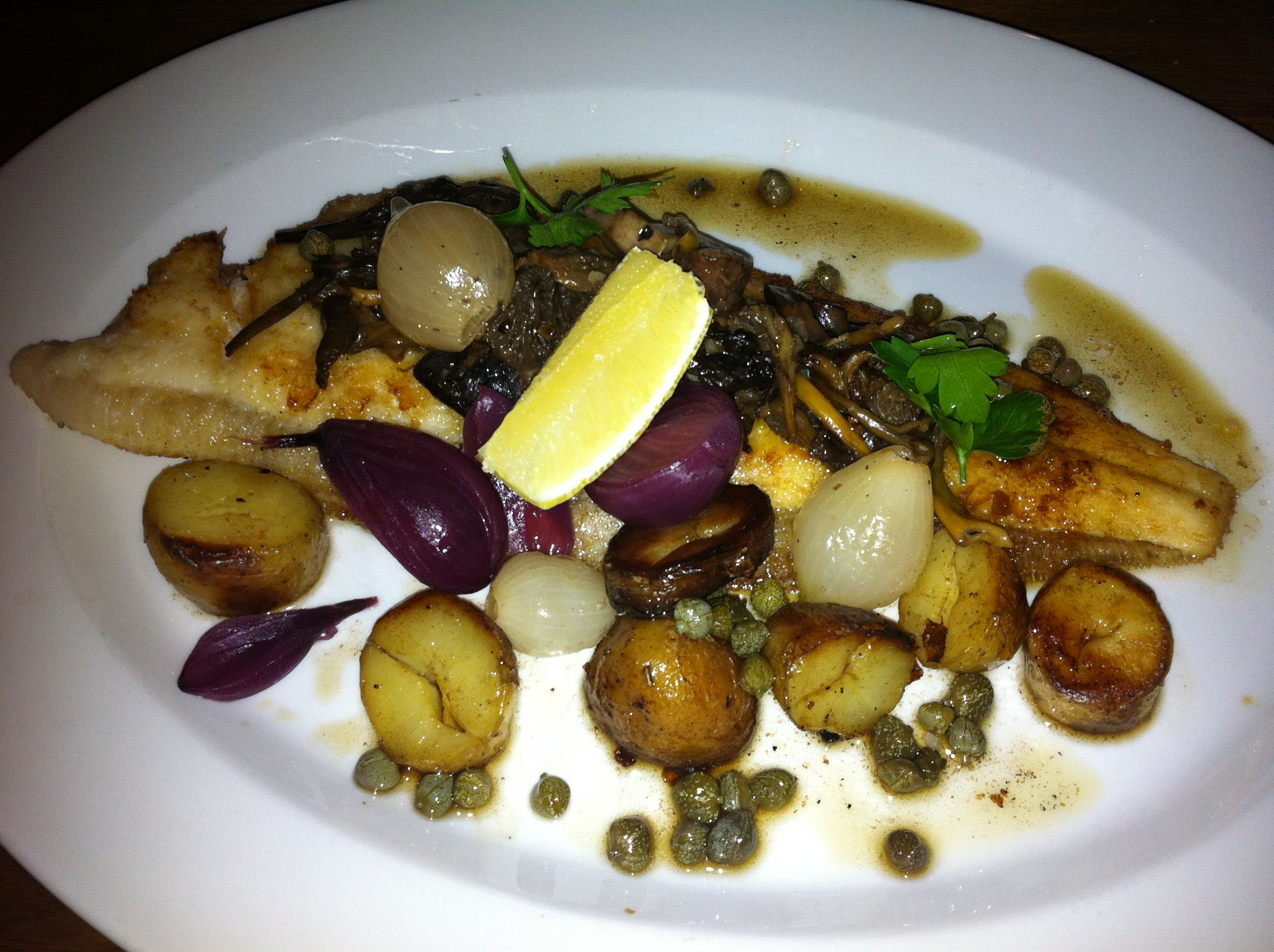 Sole a la Meuniere | Fish Dishes | Pinterest