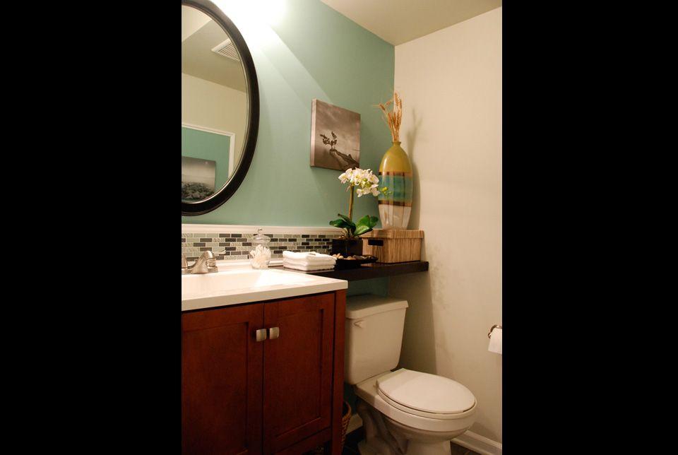 shelf over toilet bathroom pinterest