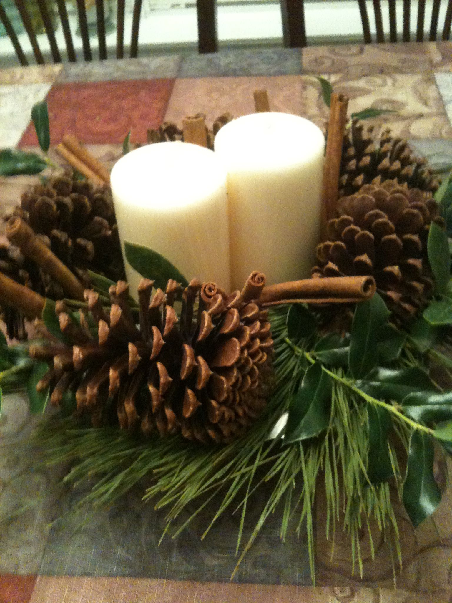 Kitchen Table Centerpiece Holiday Decor Pinterest