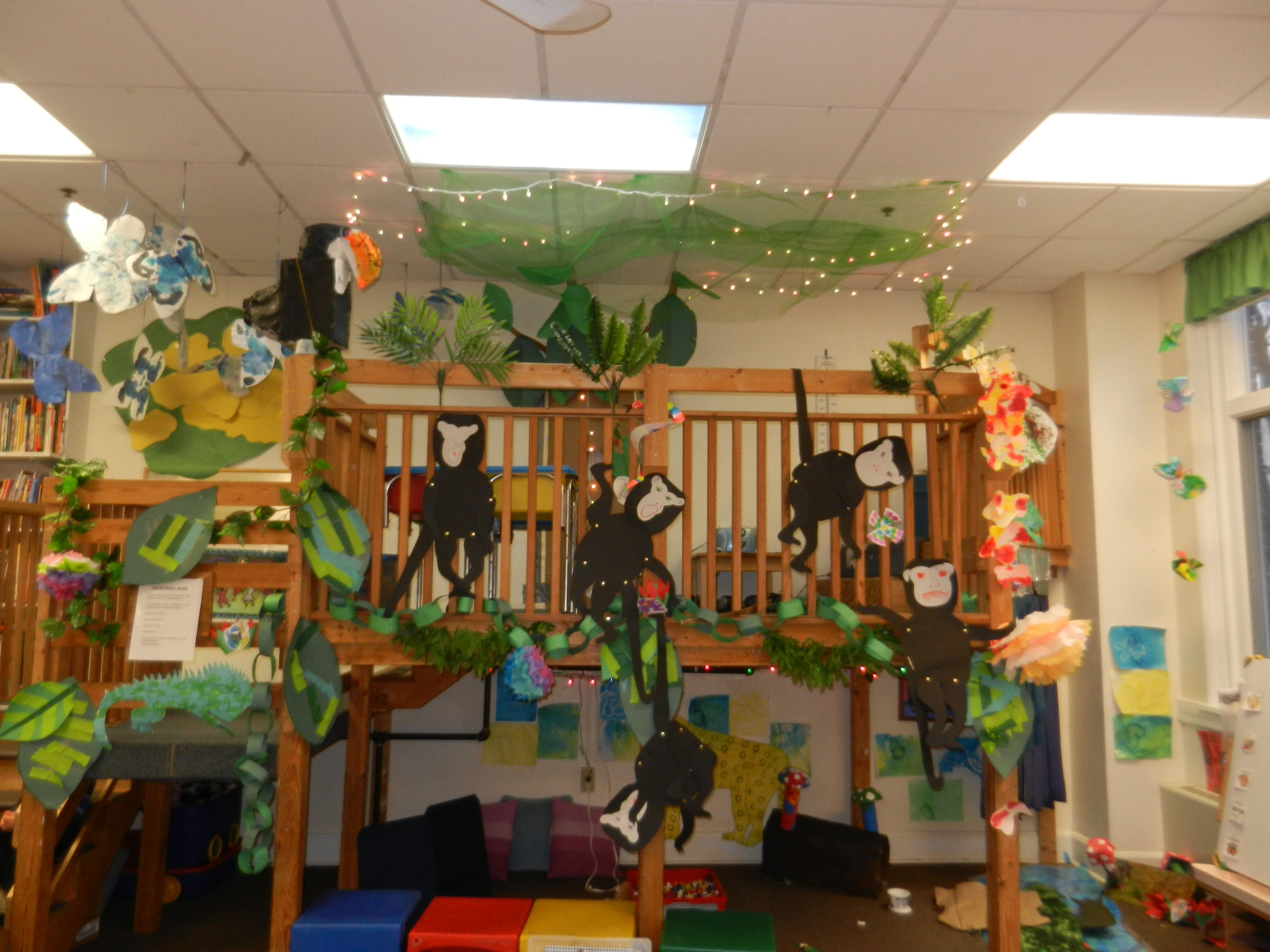 Rainforest Classroom Decoration Ideas ~ Rainforest theme classroom decorations and boards