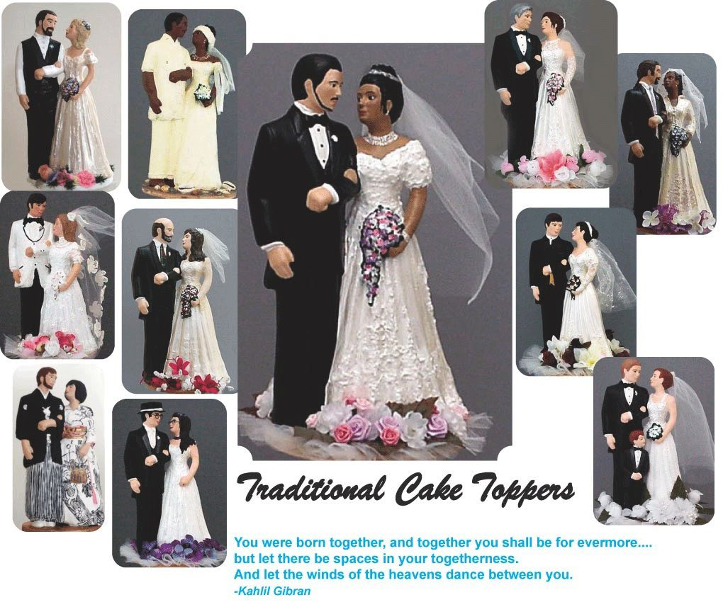 Want see interracial bald cake topper lucky man