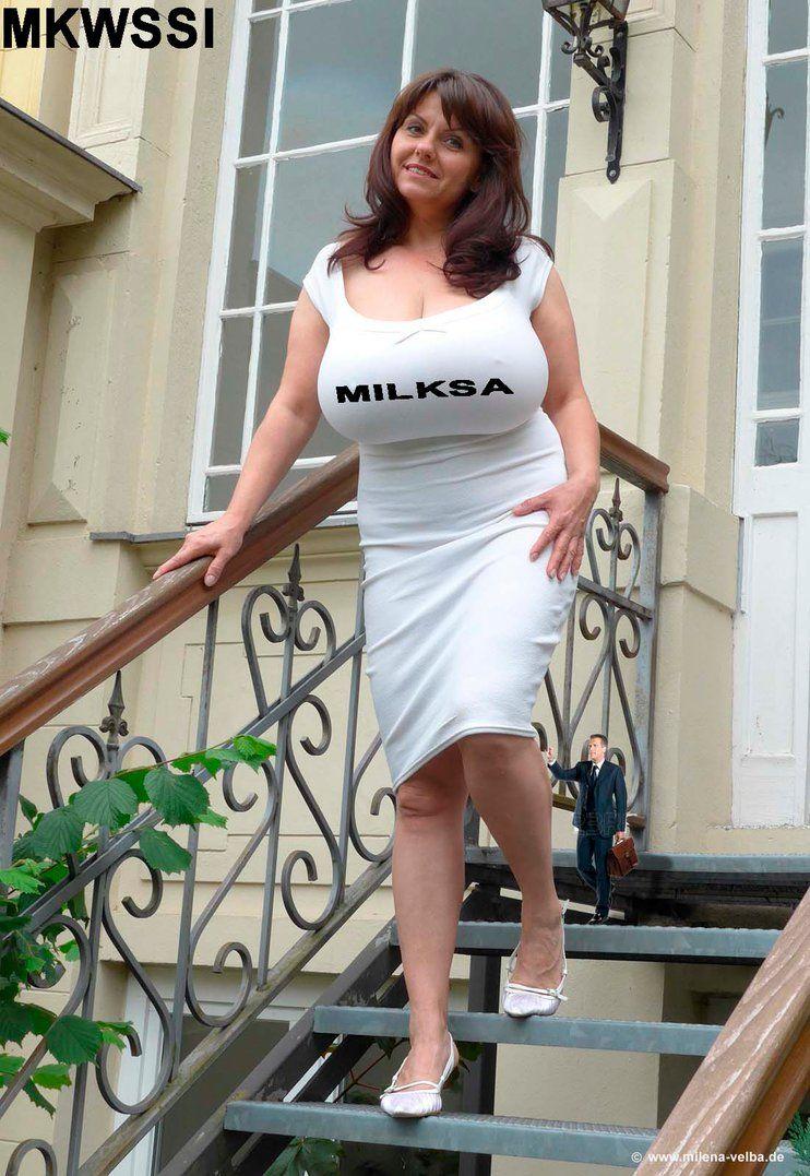 Milena Velba | clothed huge | Pinterest | Boobs, Dress ...