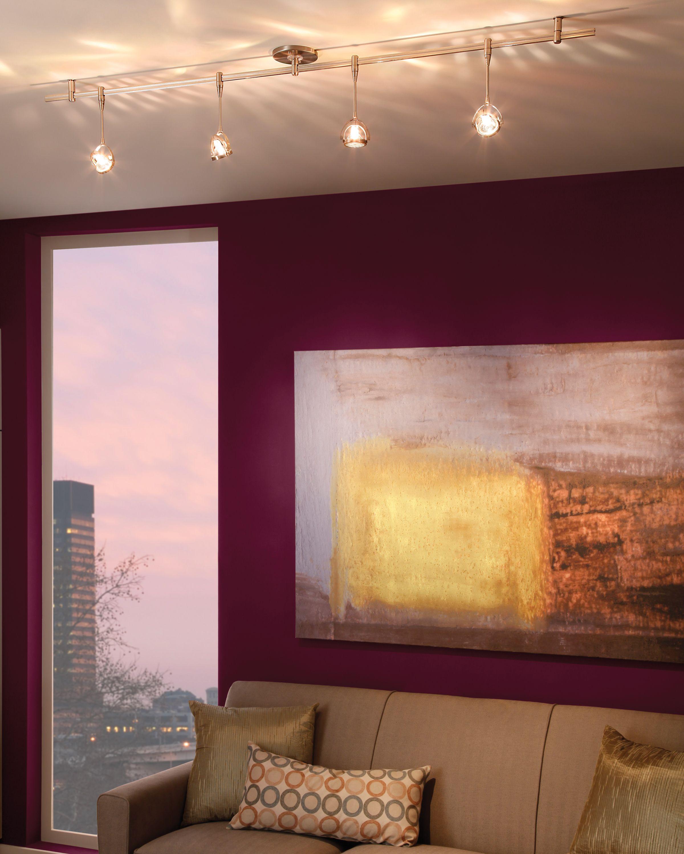 track light hallway a studio to build pinterest. Black Bedroom Furniture Sets. Home Design Ideas