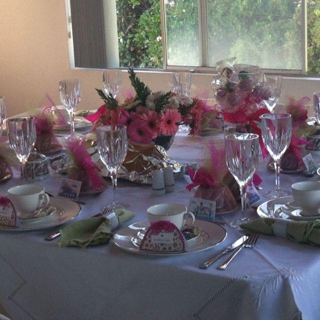 Tea Party Table Settings Ideas : High tea table setting  NCL tea party ideas  Pinterest