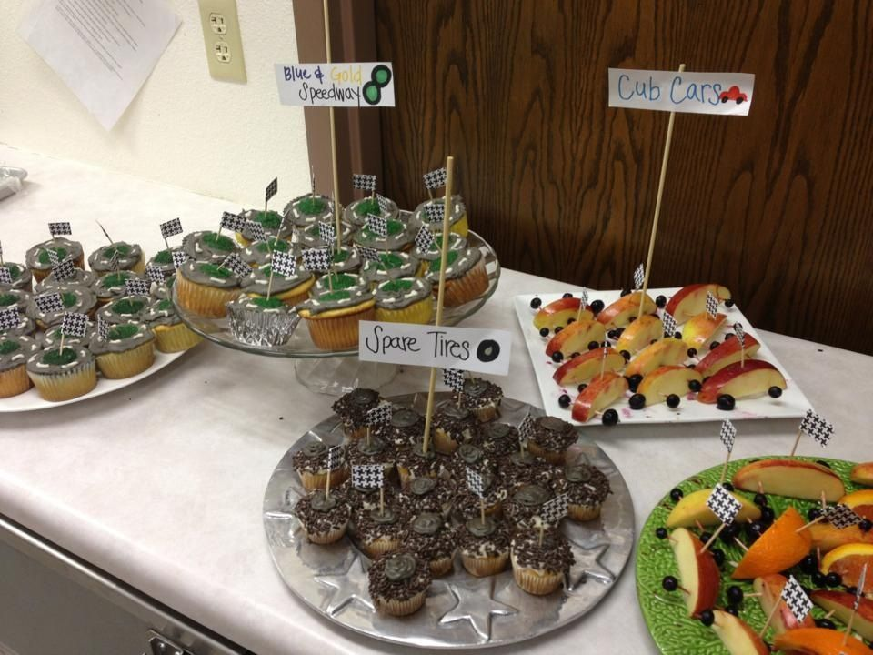 Nice! Pinewood derby refreshments. | Scouts | Pinterest