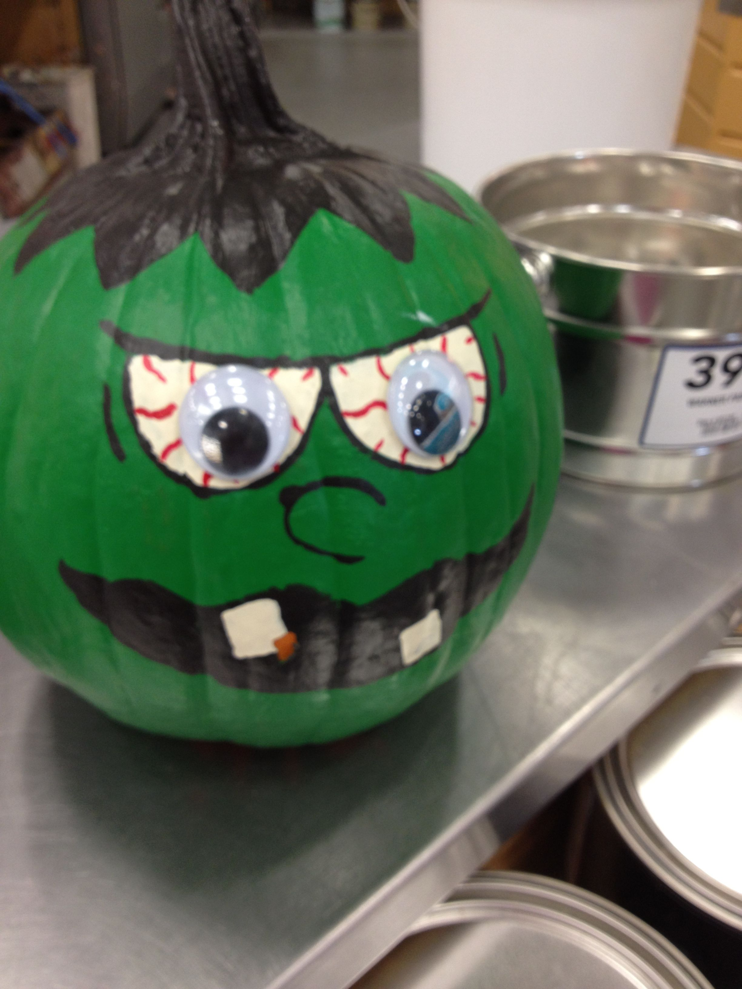 Painted Pumpkin Cool Idea Boo Pinterest