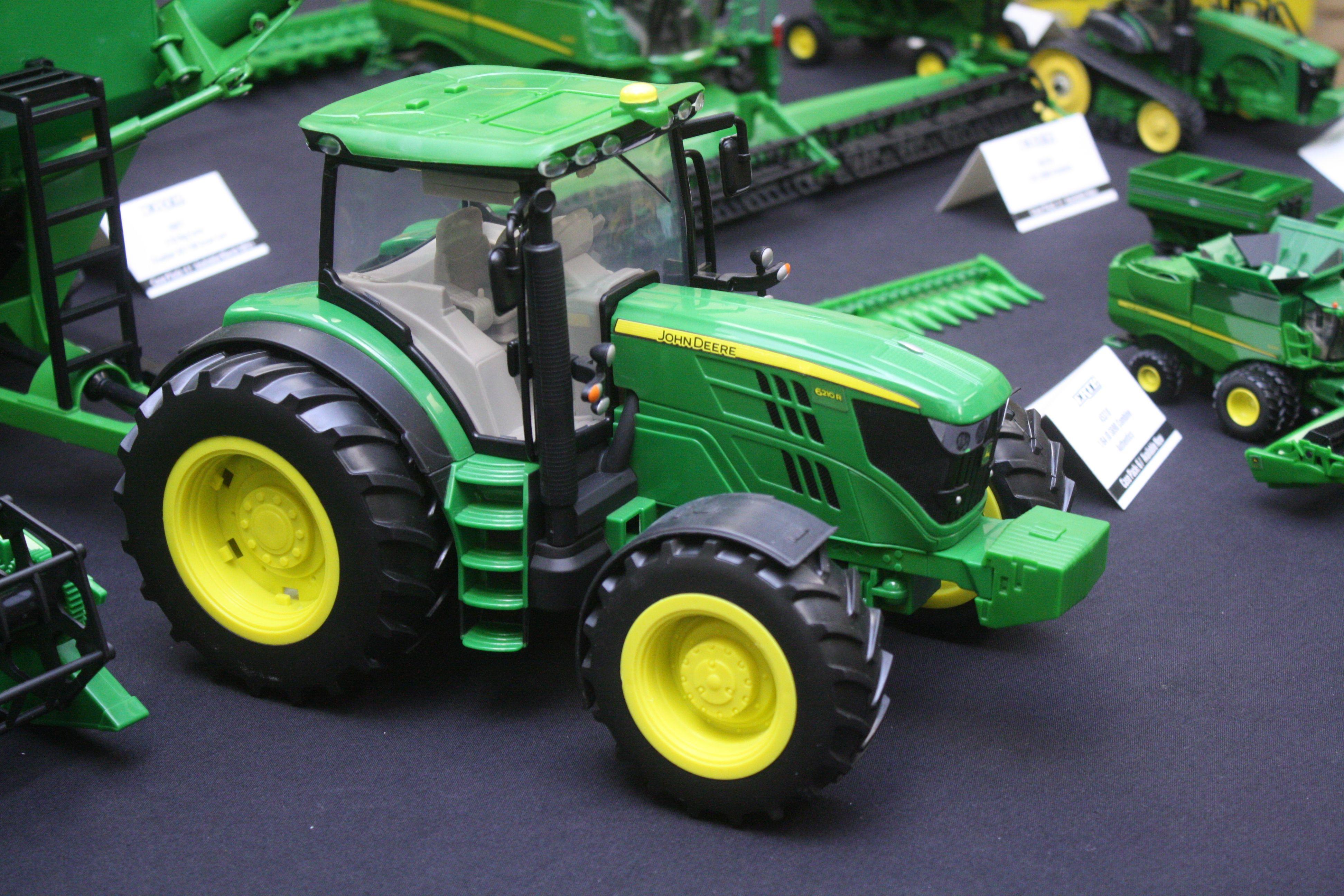 Big farm john deere 6210r by ertl toy tractors pinterest