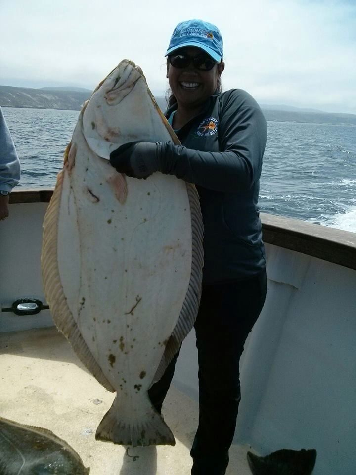 53lb california halibut fishing and outdoors pinterest for California halibut fishing