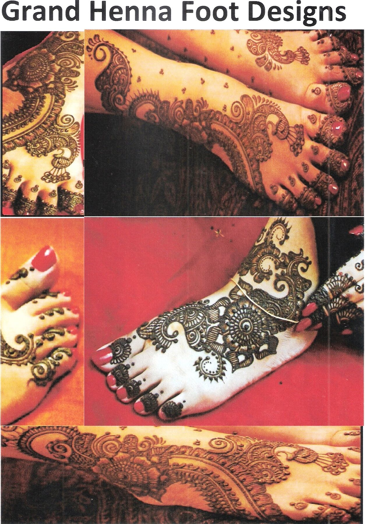 Mehndi Designs Grand : Mehndi designs grand makedes