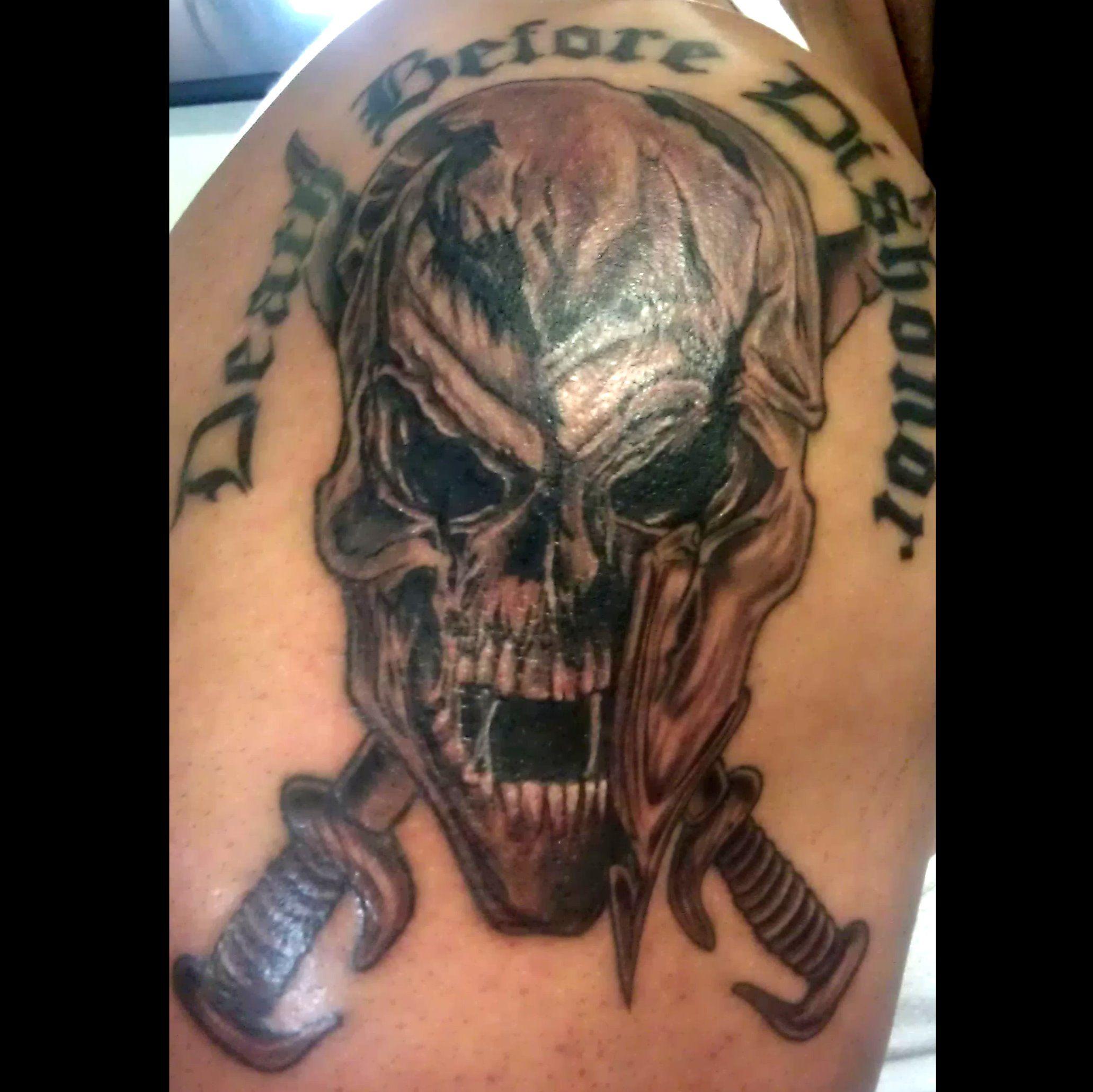 spartan warrior tattoos