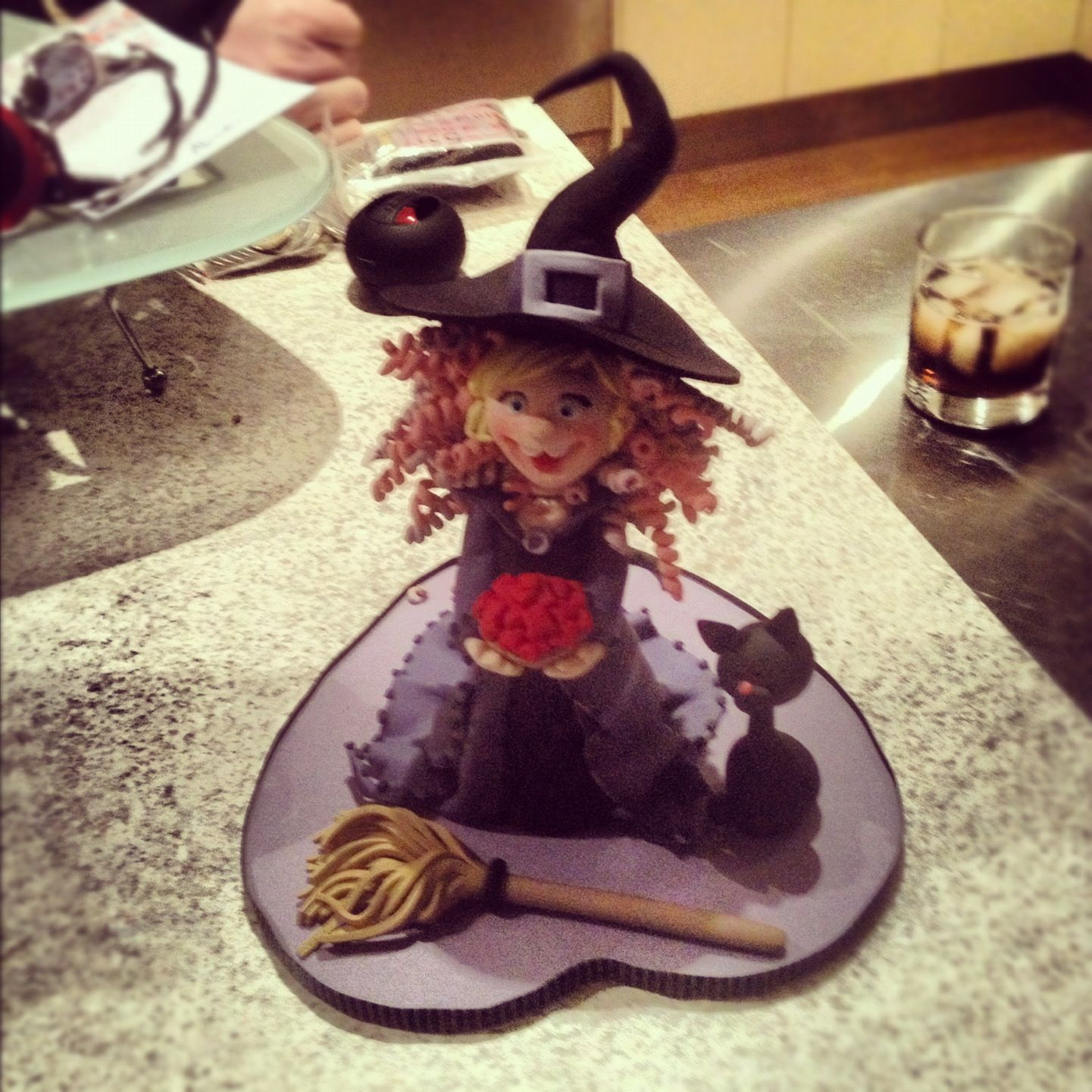 fondant witch