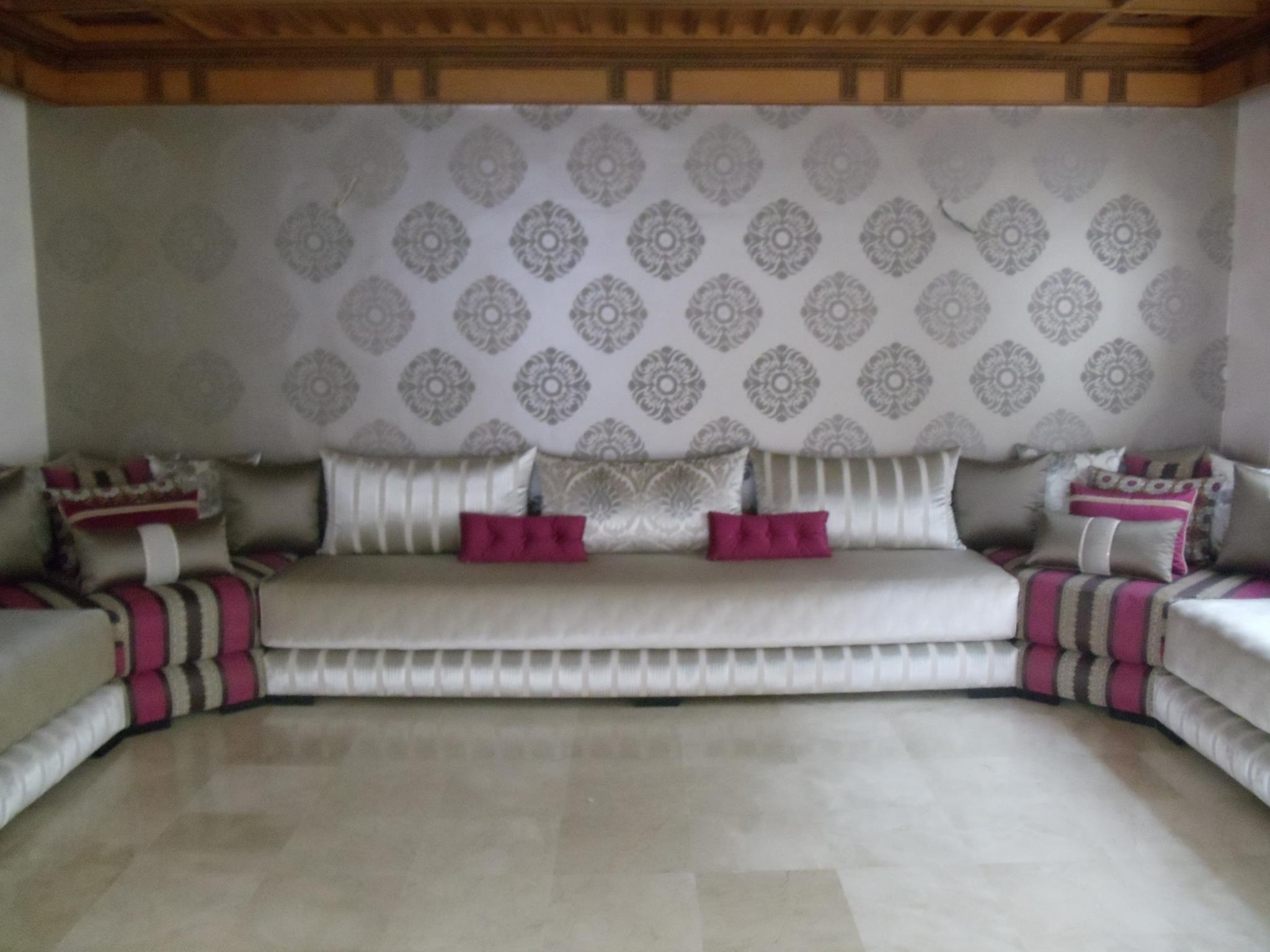 Salon marocain maison du maroc leila pinterest for Salons marocains