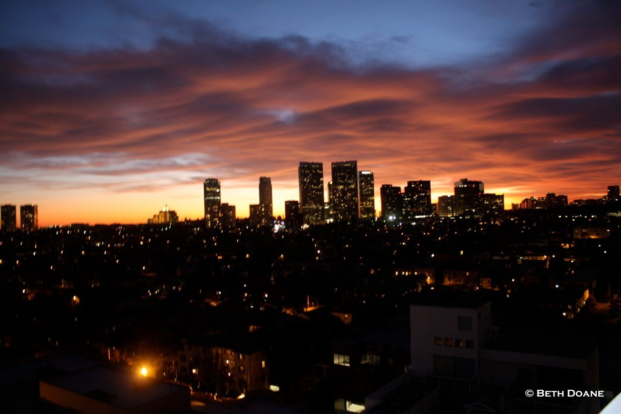 A los angeles sunset most beautiful places on earth for Beautiful in los angeles