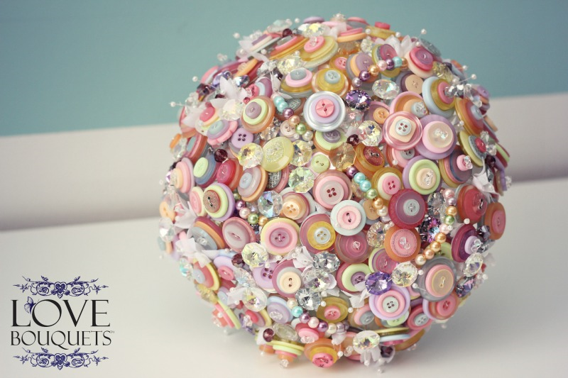 Button Bouquet From Love Bouquets