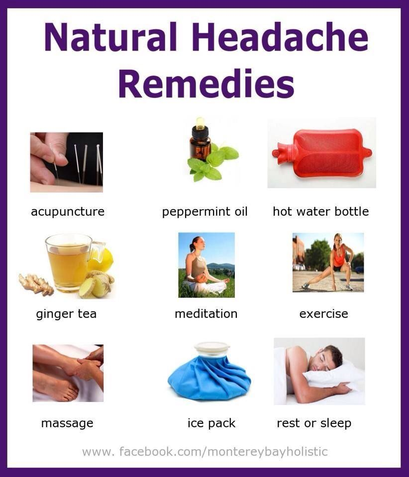 Headache Relief Natural Cures