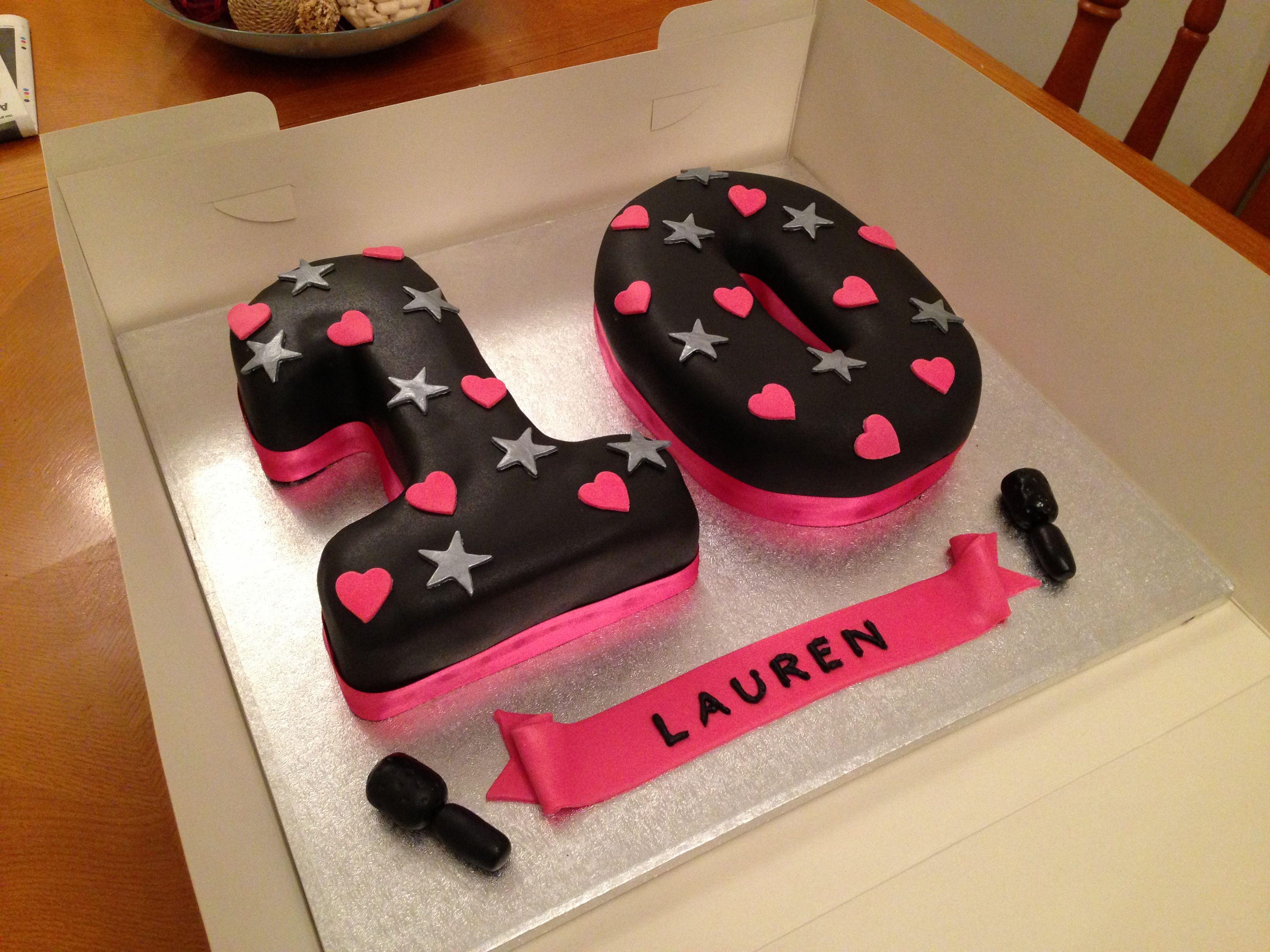 10th birthday cake designs