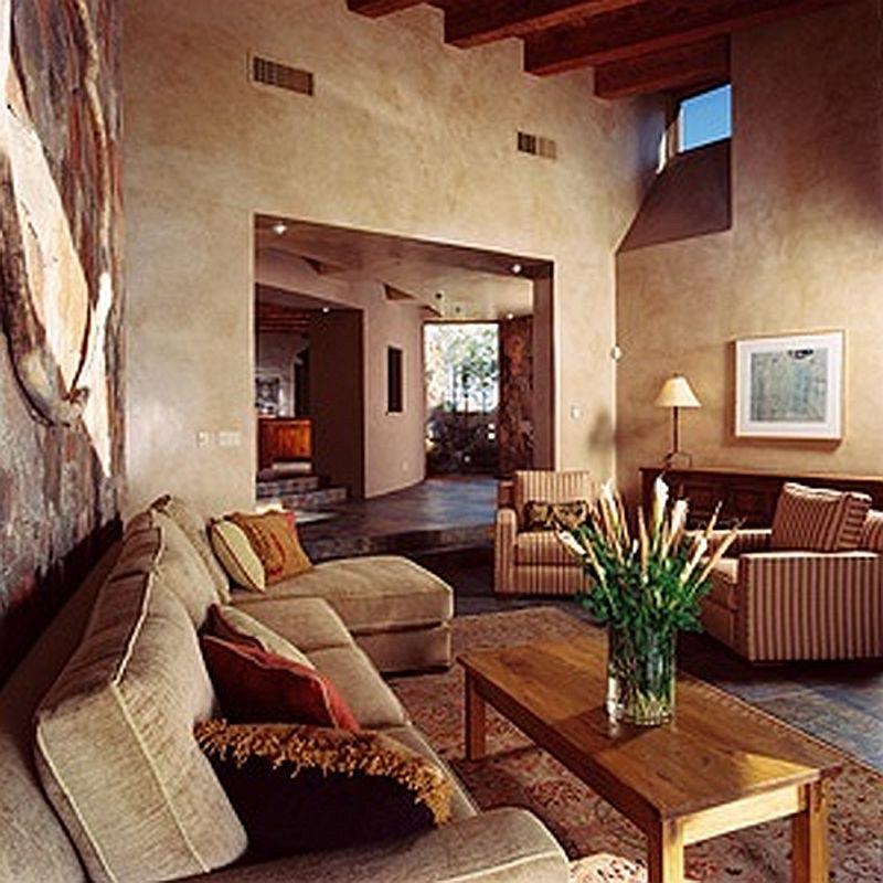 Modern Southwestern Pueblo Design Southwestern Room