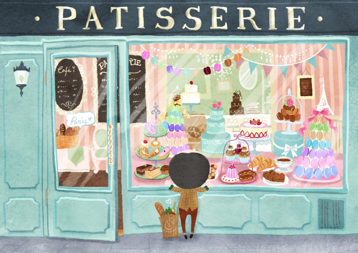 Pin by diane seren on window shopping pinterest - Journal de la patisserie ...