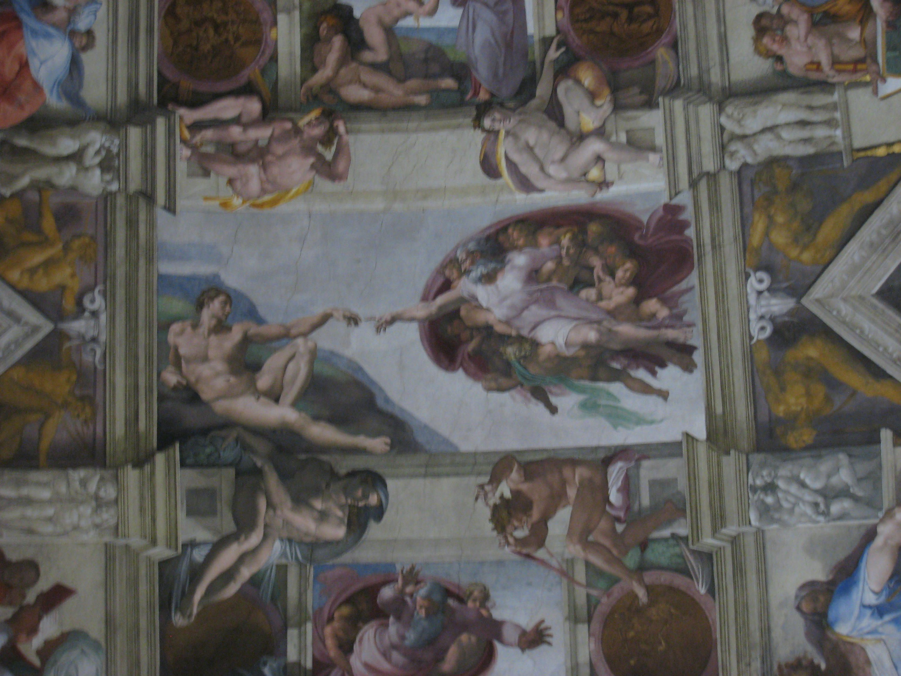 sistine chapel The ceiling of the sistine chapel is one of michelangelo's most famous works learn more about the history of this masterpiece 1508-12, fresco (vatican, rom.