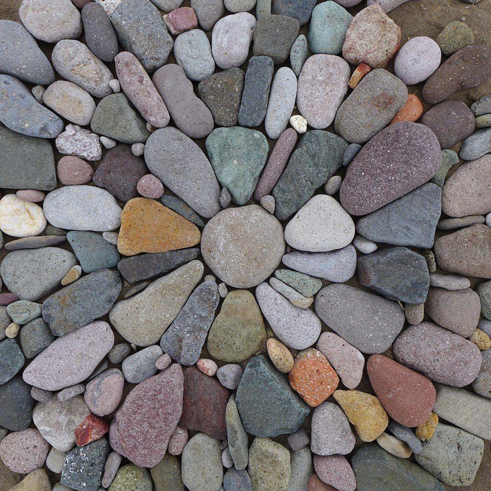 Jeffrey bale pebble mosaic garden and landscape pinterest for Stone pebbles for garden