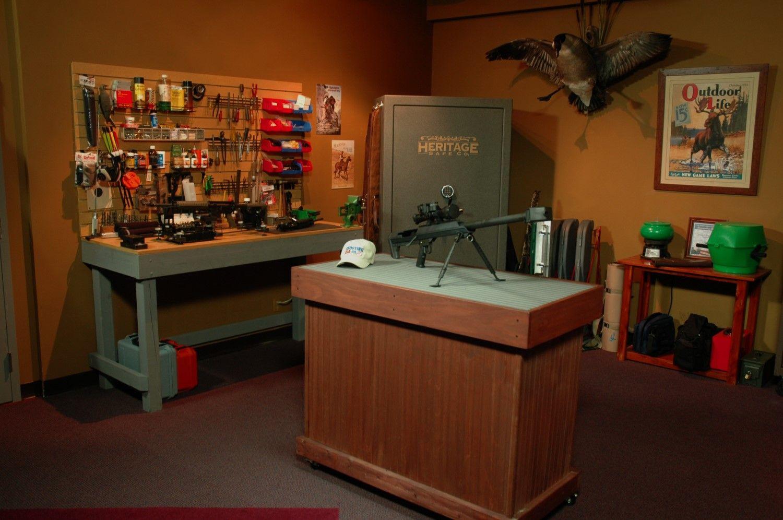 Man Cave Bench Ideas : Gun room pinterest