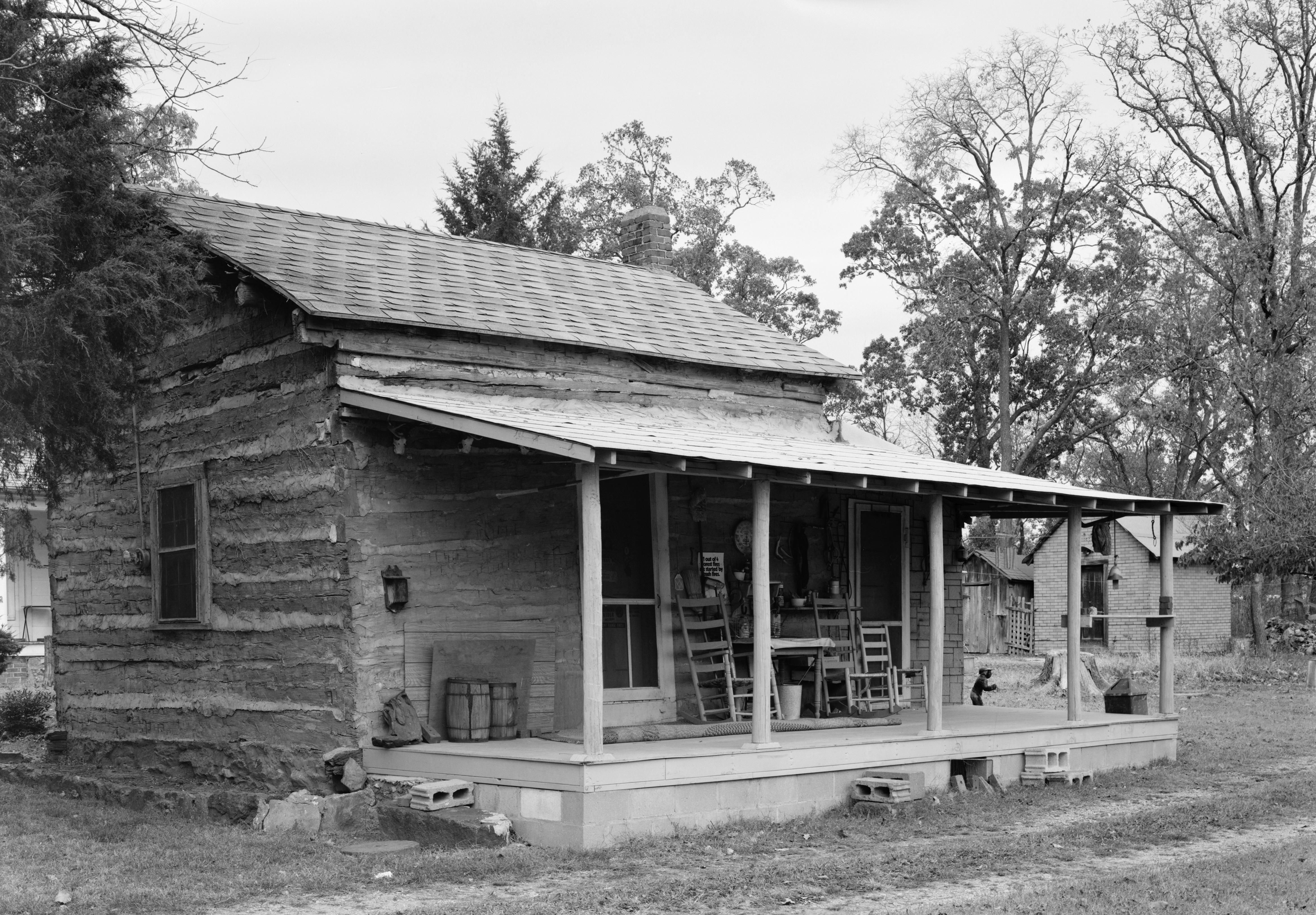Dr Irwin D Loeser Log Cabin Colonial Frontier Houses