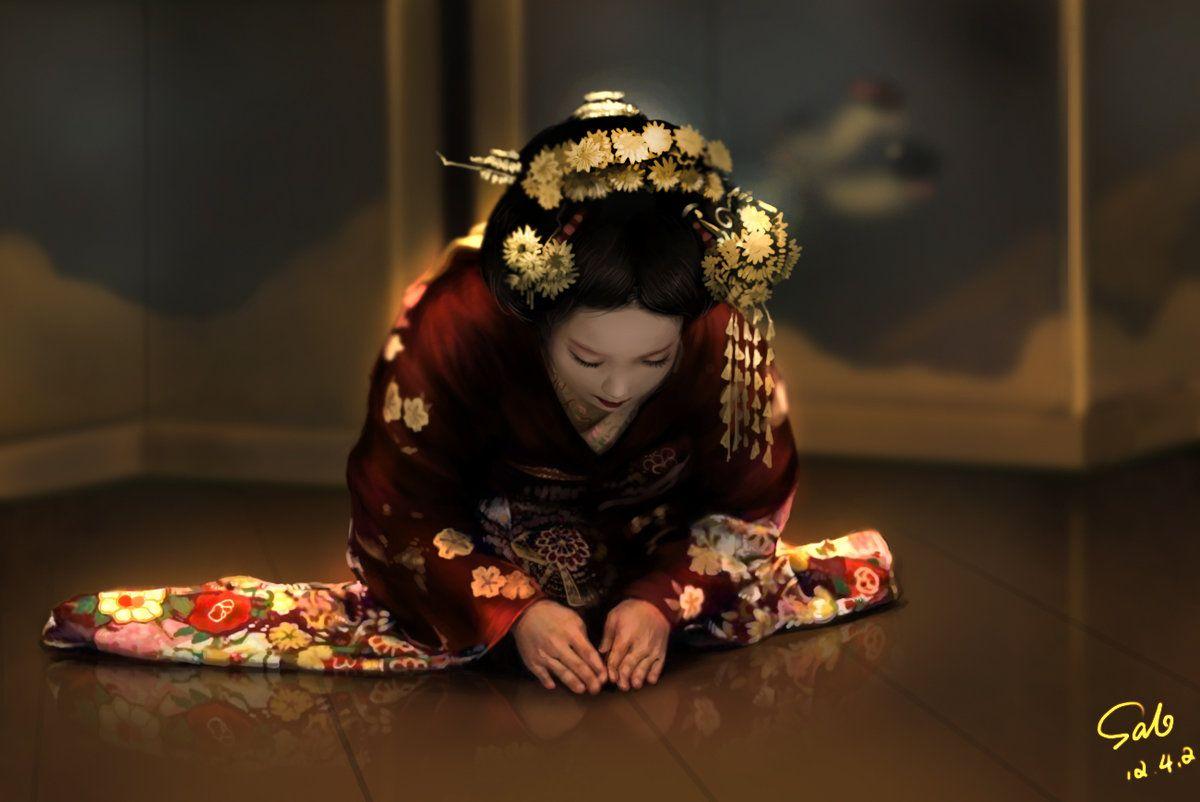 What is a Geisha, Japanese Traditional Geisha Sayuki