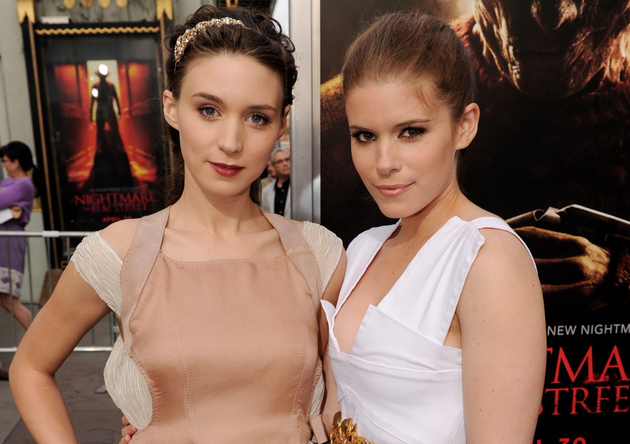 Kate mara and rooney mara dont look alike