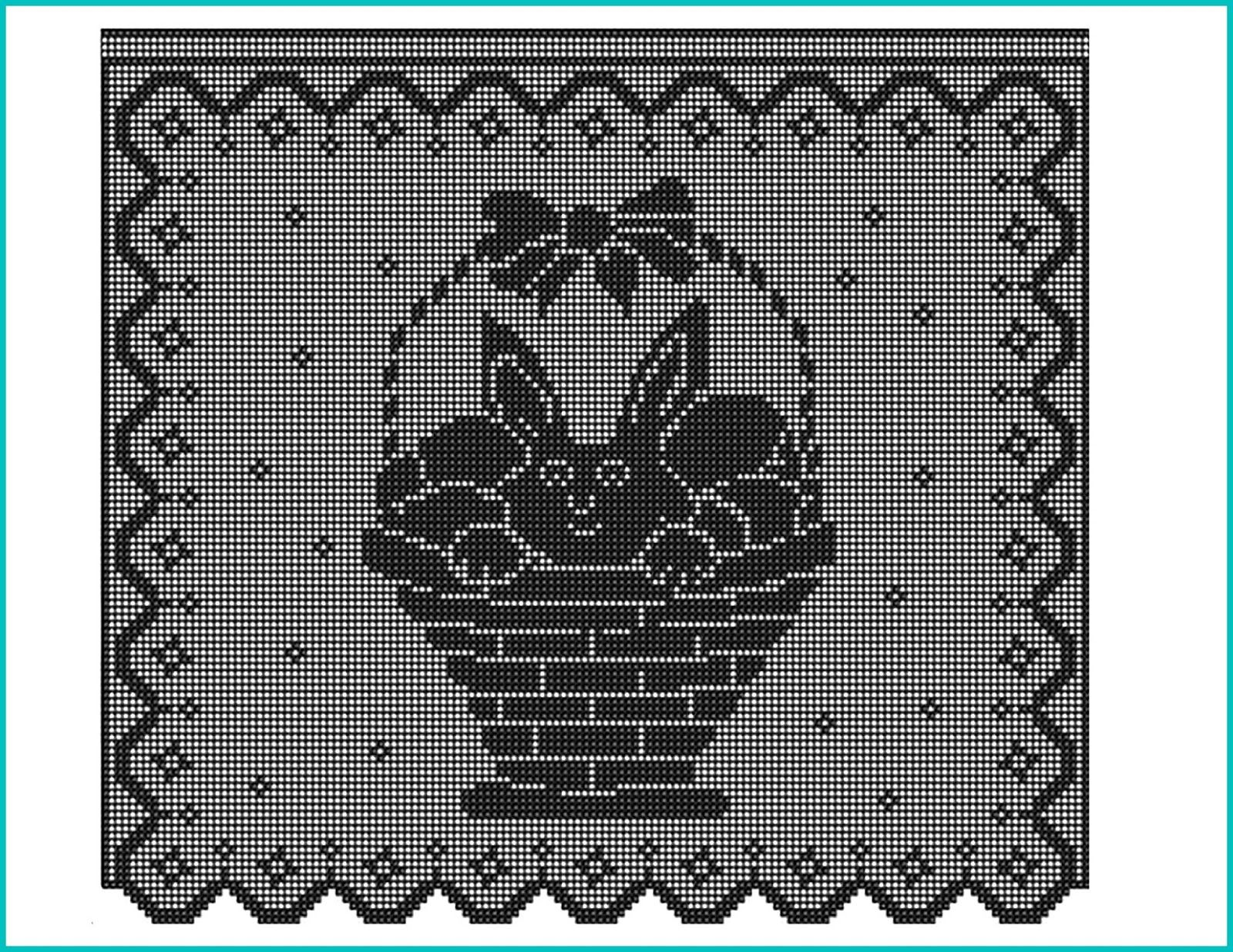 Pin by interszansa on ZAA crochet- filet (scieg siatkowy ) | Pinterest