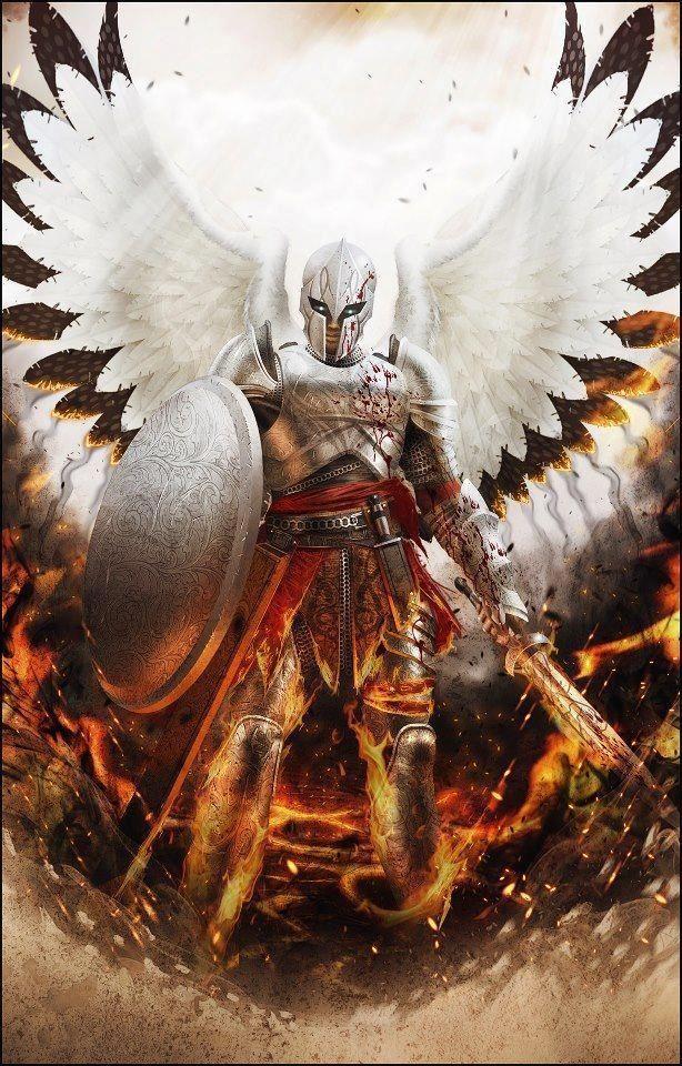 angels and demons battle art - photo #19