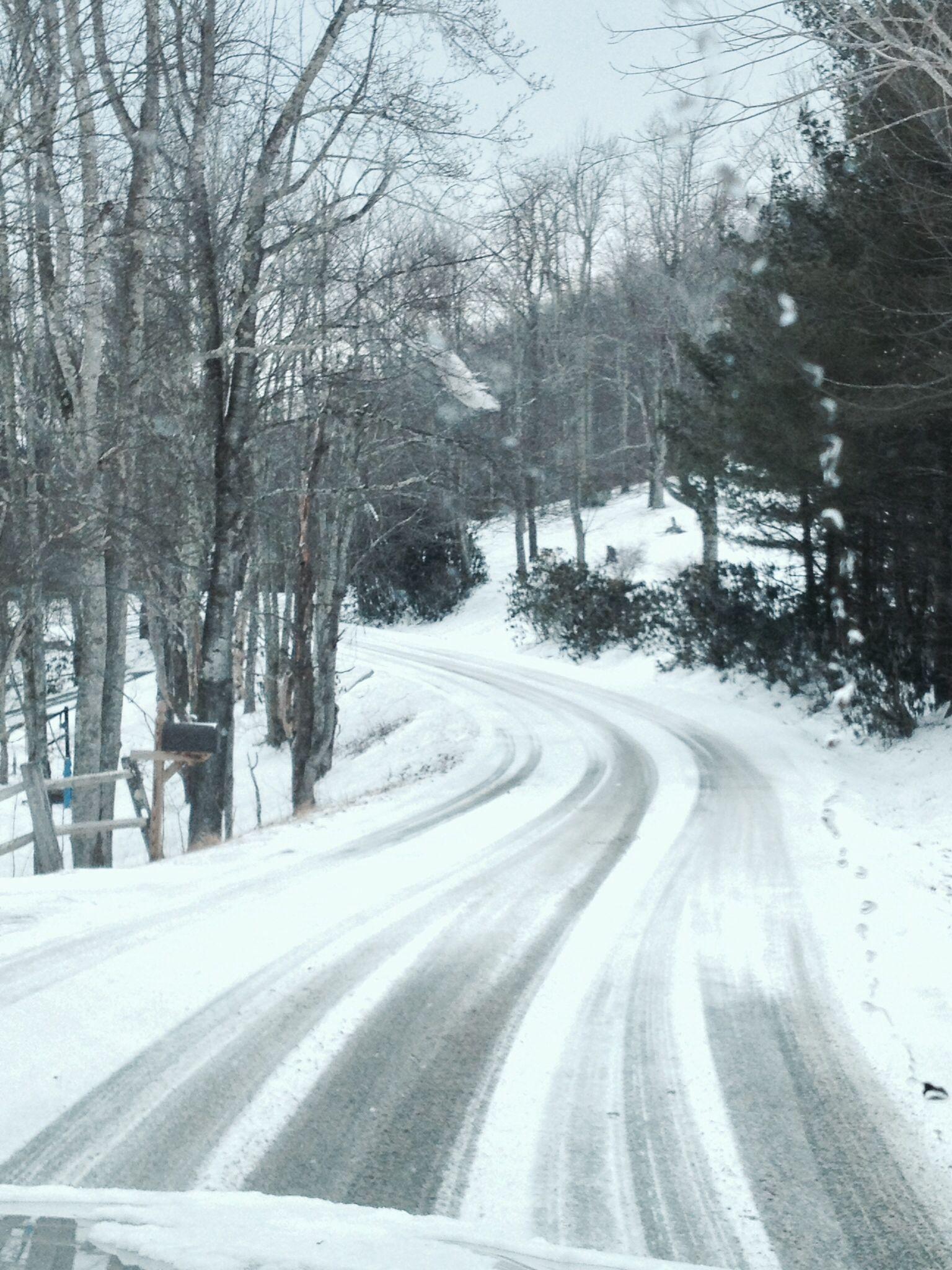 Boone NC Snow
