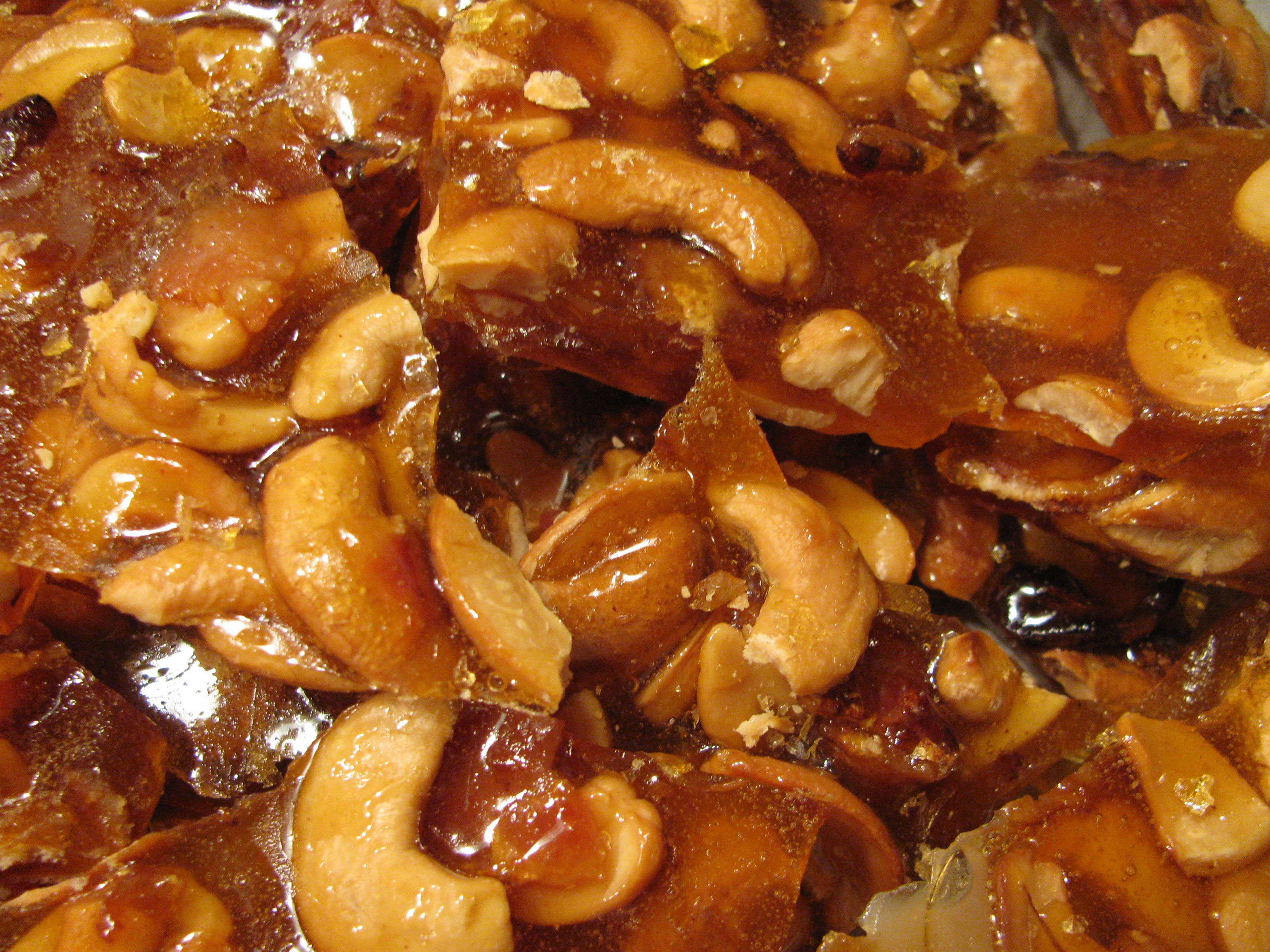 Toasted Cashew And Bacon Brittle Recipe — Dishmaps