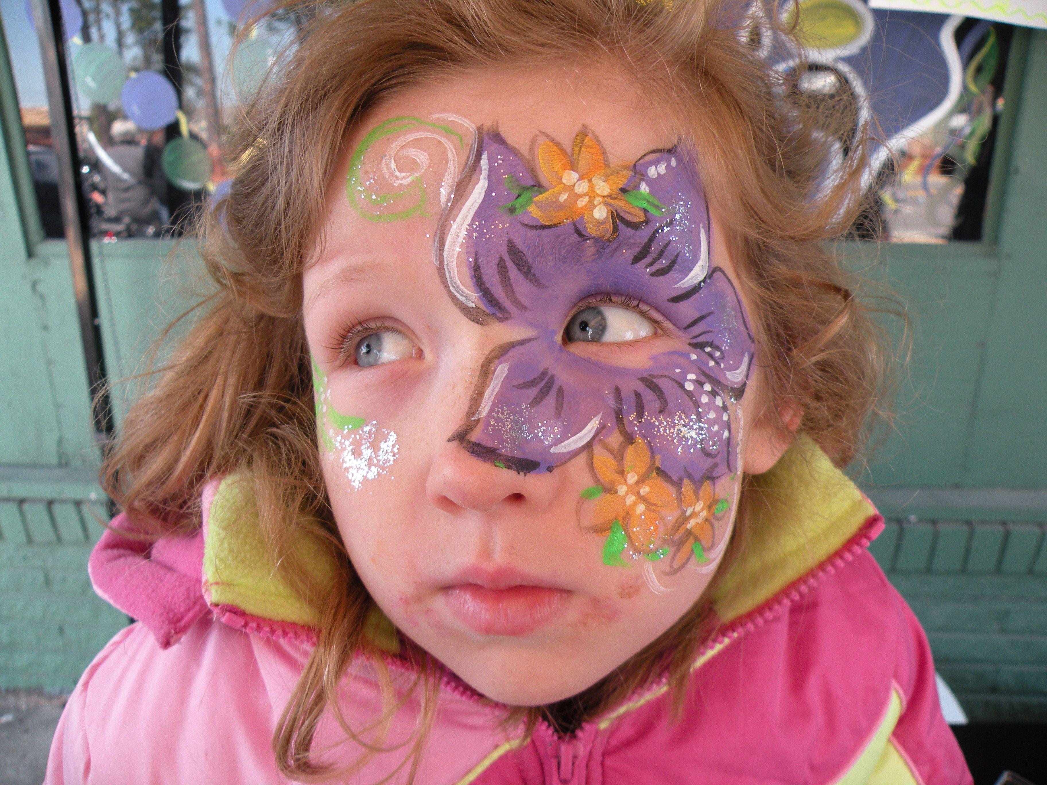 Happy Mardi Gras! | Face painting designs i like | Pinterest